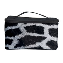 Black And White Giraffe Skin Pattern Cosmetic Storage Case