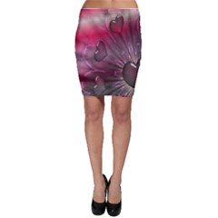 Love Hearth Background Wallpaper Bodycon Skirt