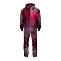 Love Hearth Background Wallpaper Hooded Jumpsuit (Kids)