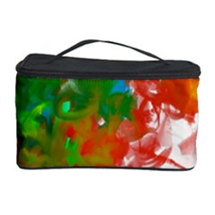 Digitally Painted Messy Paint Background Textur Cosmetic Storage Case