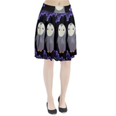 Fractal Image With Penguin Drawing Pleated Skirt