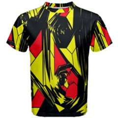 Easy Colors Abstract Pattern Men s Cotton Tee