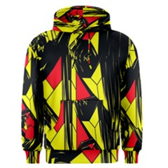 Easy Colors Abstract Pattern Men s Pullover Hoodie