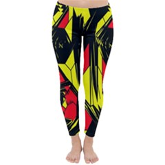 Easy Colors Abstract Pattern Classic Winter Leggings