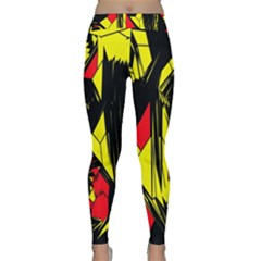 Easy Colors Abstract Pattern Classic Yoga Leggings