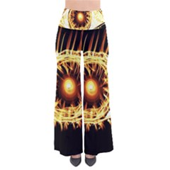 Flame Eye Burning Hot Eye Illustration Pants