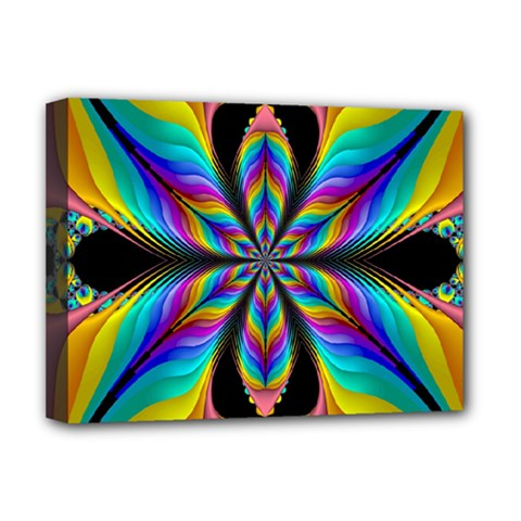 Fractal Butterfly Deluxe Canvas 16  x 12