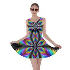 Fractal Butterfly Skater Dress