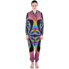 Fractal Butterfly Hooded Jumpsuit (Ladies)