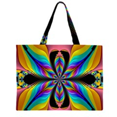 Fractal Butterfly Large Tote Bag