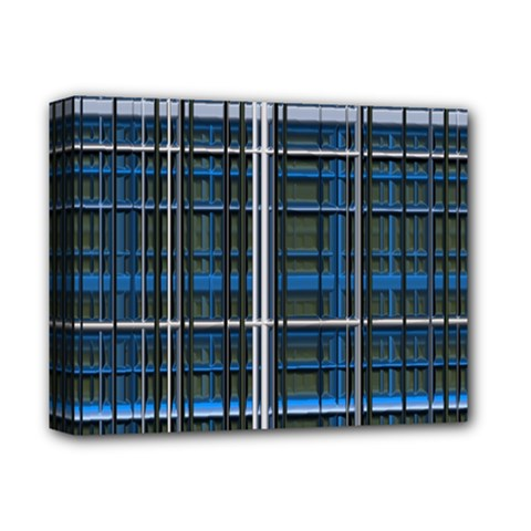 3d Effect Apartments Windows Background Deluxe Canvas 14  x 11