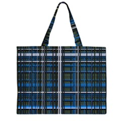 3d Effect Apartments Windows Background Large Tote Bag