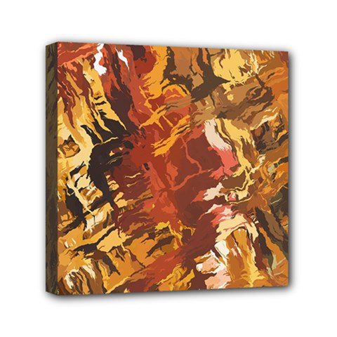 Abstraction Abstract Pattern Mini Canvas 6  x 6