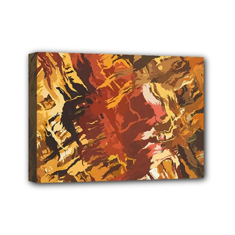 Abstraction Abstract Pattern Mini Canvas 7  x 5