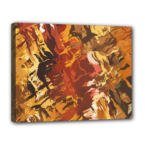 Abstraction Abstract Pattern Canvas 14  x 11