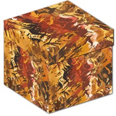 Abstraction Abstract Pattern Storage Stool 12