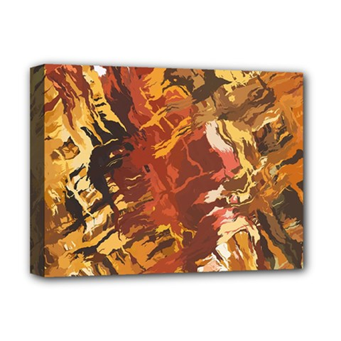 Abstraction Abstract Pattern Deluxe Canvas 16  x 12