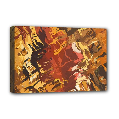 Abstraction Abstract Pattern Deluxe Canvas 18  x 12