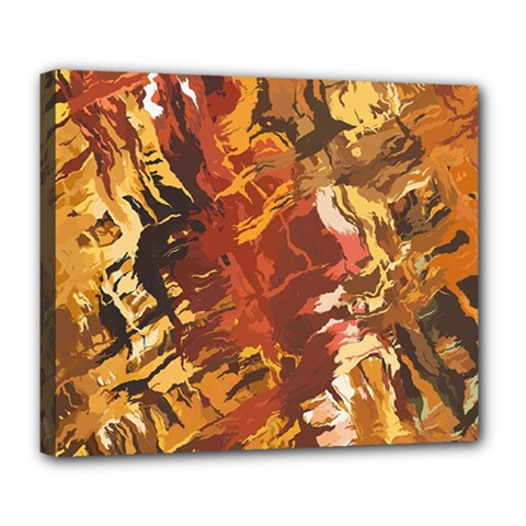 Abstraction Abstract Pattern Deluxe Canvas 24  x 20