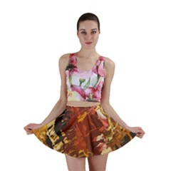 Abstraction Abstract Pattern Mini Skirt