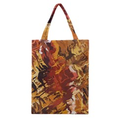 Abstraction Abstract Pattern Classic Tote Bag