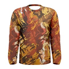 Abstraction Abstract Pattern Men s Long Sleeve Tee