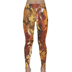 Abstraction Abstract Pattern Classic Yoga Leggings