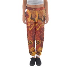 Abstraction Abstract Pattern Women s Jogger Sweatpants