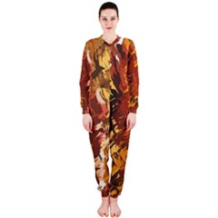 Abstraction Abstract Pattern OnePiece Jumpsuit (Ladies)