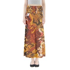 Abstraction Abstract Pattern Maxi Skirts