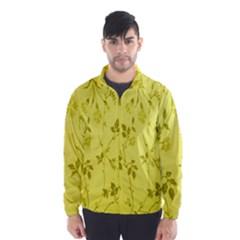 Flowery Yellow Fabric Wind Breaker (men)