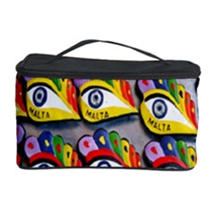 The Eye Of Osiris As Seen On Mediterranean Fishing Boats For Good Luck Cosmetic Storage Case