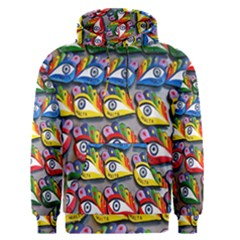 The Eye Of Osiris As Seen On Mediterranean Fishing Boats For Good Luck Men s Pullover Hoodie