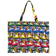 The Eye Of Osiris As Seen On Mediterranean Fishing Boats For Good Luck Large Tote Bag