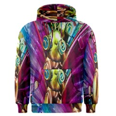 Magic Butterfly Art In Glass Men s Pullover Hoodie