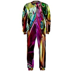Magic Butterfly Art In Glass Onepiece Jumpsuit (men)