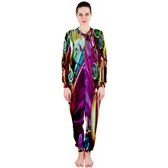 Magic Butterfly Art In Glass OnePiece Jumpsuit (Ladies)