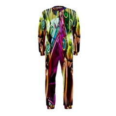 Magic Butterfly Art In Glass Onepiece Jumpsuit (kids)