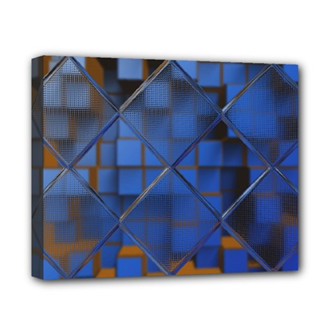 Glass Abstract Art Pattern Canvas 10  X 8