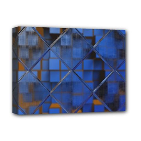 Glass Abstract Art Pattern Deluxe Canvas 16  x 12