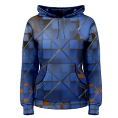 Glass Abstract Art Pattern Women s Pullover Hoodie