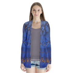 Glass Abstract Art Pattern Cardigans