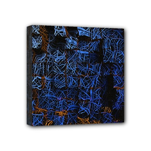 Background Abstract Art Pattern Mini Canvas 4  x 4