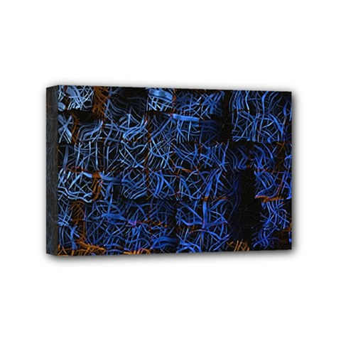 Background Abstract Art Pattern Mini Canvas 6  x 4