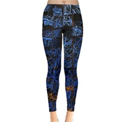 Background Abstract Art Pattern Leggings