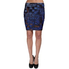 Background Abstract Art Pattern Bodycon Skirt