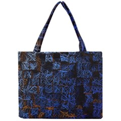 Background Abstract Art Pattern Mini Tote Bag