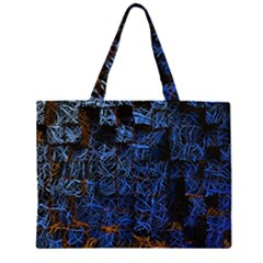 Background Abstract Art Pattern Large Tote Bag