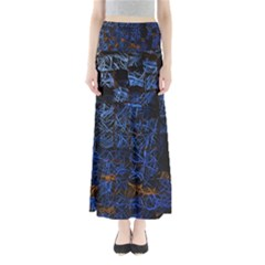 Background Abstract Art Pattern Maxi Skirts