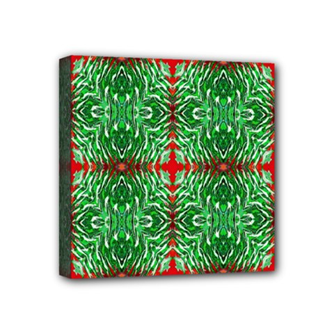 Geometric Seamless Pattern Digital Computer Graphic Mini Canvas 4  X 4